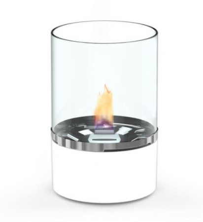 TenderFlame Tower 10cm,  Hvit